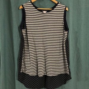 Stylus tank sleeveless top